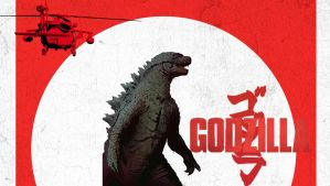 Godzilla (2014) #1 (Fan Poster) by Neville6000