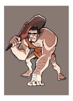 caveman by chaoticbeing