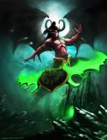 Illidan Stormrage by Apocalypse-tr