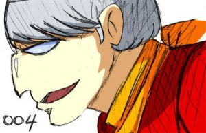 cyborg 004 sketch colored by TheMusicMagus