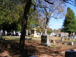 Autumn Cemetery 06 by DKD-Stock