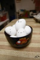 Bowl of Eggs by Lei-Li