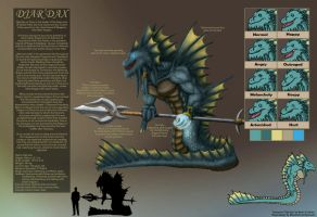 Djar'dax Reference Sheet V.1 by TargonRedDragon