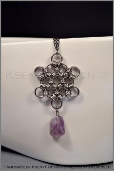 Amethyst Star by KsenyaDesign