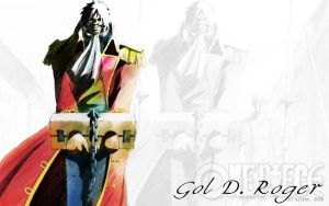 One Piece: Gol D. Roger by ailend