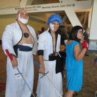 Yammy, Grimmjow, and Rukia by Leith-FF