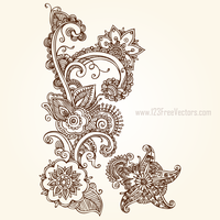 Download Free Vector Flowers by 123freevectors