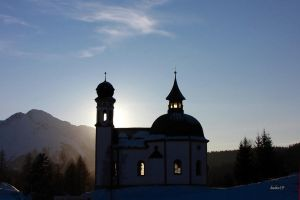 Church of Seefeld in Austria by baba49