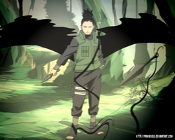 Nara Shikamaru - Wings of shadow by PrimaSoul