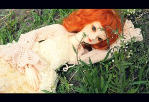 On the grass ... by AmeliaMadHatter