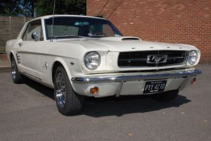 white mustang by bmhelman