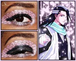 Eye Designs: Byakuya Kuchiki by MakeupSiren