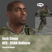Josh Stone RE5 BSAA Uniform by Adngel