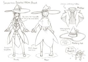 EE - Sasarina's Character Doodle Sheet by abyss-crimson