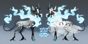 Witch of the Wisps Halloween OTA [CLOSED] by kasettetape