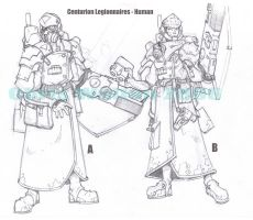 Centurion Legion concepts by cwalton73