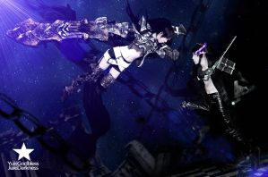 Insane black rock shooter cpsplay by yukigodbless