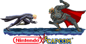 Wesker vs Ganondorf Nintendo vs Capcom by Riklaionel