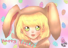 Happy Easter Everyone!! by Maru-ChanX3