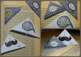 bookmarks by mushroom-in-fence