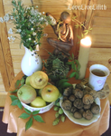 September full moon altar by LoveLiveLilith