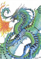dragon by Sunima