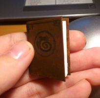 Tiny book, The Book Of Dragons wip by 77Flower77