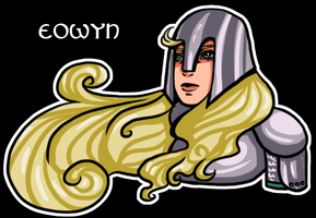 Day 6: Favorite book character - Eowyn by Chi-tenshi