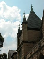 Church Steeple Stock by HauntingVisionsStock