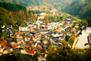 Vianden miniature city by Justsobeautifull