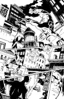Daredevil and Punisher pg 1 by deankotz
