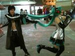 BRS and Miku - Cosplayers Day by Mihcchan