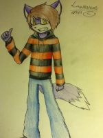 :art trade: lawrence  by Caththecat29