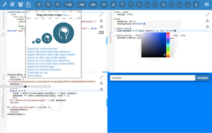 kodeWeave - A Live Web Coding Playground by mikethedj4