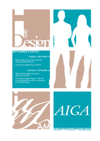 AIGA Poster Revisited by colorchrome