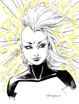 Storm Con Style Sketch 2014 by aethibert