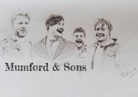Mumford and Sons by O173