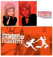 strawberry and cigarette! promos_01 by codexnoirmatic