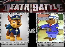 Death Battle - Chase vs. Sergeant Murphy by MatthewJabezNazarioI