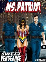 Ms Patriot Cover 02 by Superheroine-Art