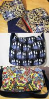 Messenger Bags of Geekery by Lilalria