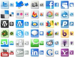 Free Social Media Icons by yourmailkept