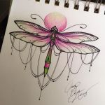 Dragonfly tattoo by ailanor