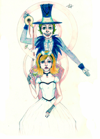 Alice and Hatter by kostinanya
