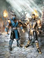 MORTAL KOMBAT customs by justintdudley