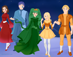 Alice Human Sacrifice - The Four Alices by peppermix14