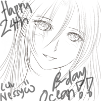 Happy 24th B-Day Ocean by Lacroa
