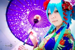 explosion of colors ~Miku Hatsune by AEimAginE