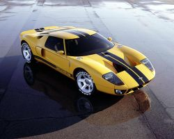 Ford GT 40 Concept by TheCarloos