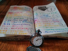 Wreck this Journal: Document Time Passing by heather24242
